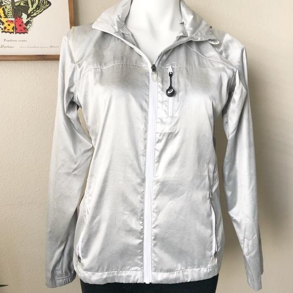 asics women's electro jacket